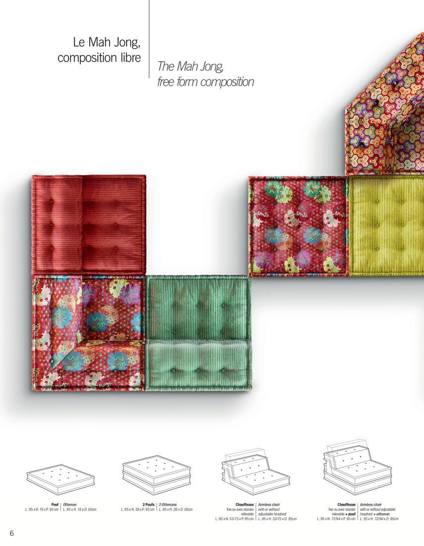 Roche Bobois Coleccion De Muebles Tapiceria Muebles