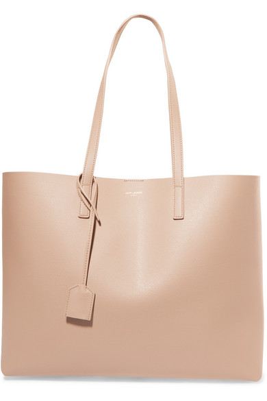 904e64b4463 SAINT LAURENT - Shopper large leather tote in 2019 | Products ...