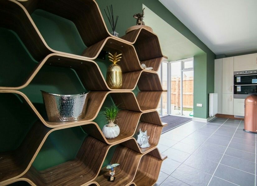 Bibliotheque Polygon Made Com Deco Maison Idee Deco Deco