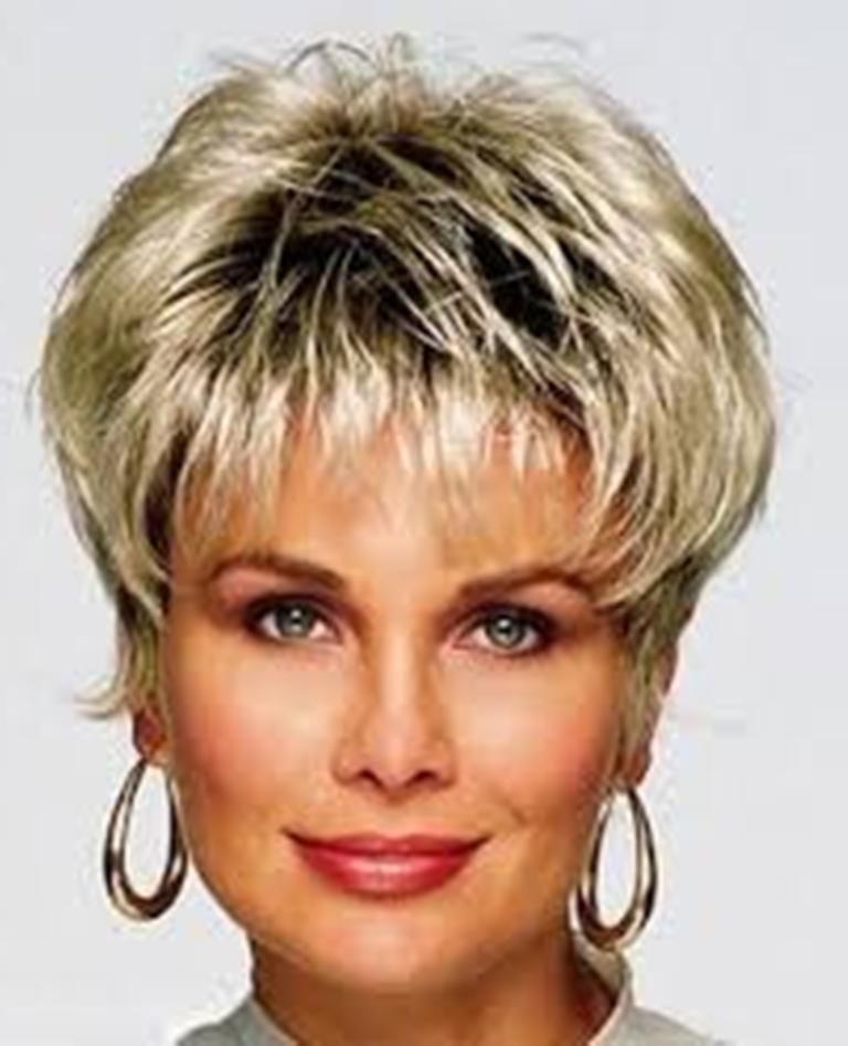 Short Haircuts For Thick Hair Over 50 Hair Styles Pinterest