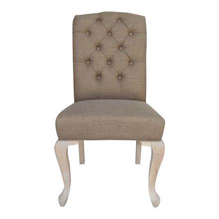 Silla de comedor tapizada Helene | Decoración ideas | Teak furniture ...