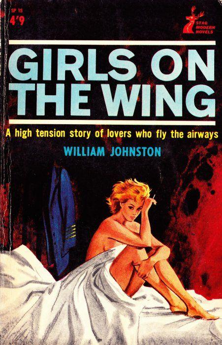 Stag Modern Novels Sp Series 1964 Modern Novel Pulp Fiction Novels