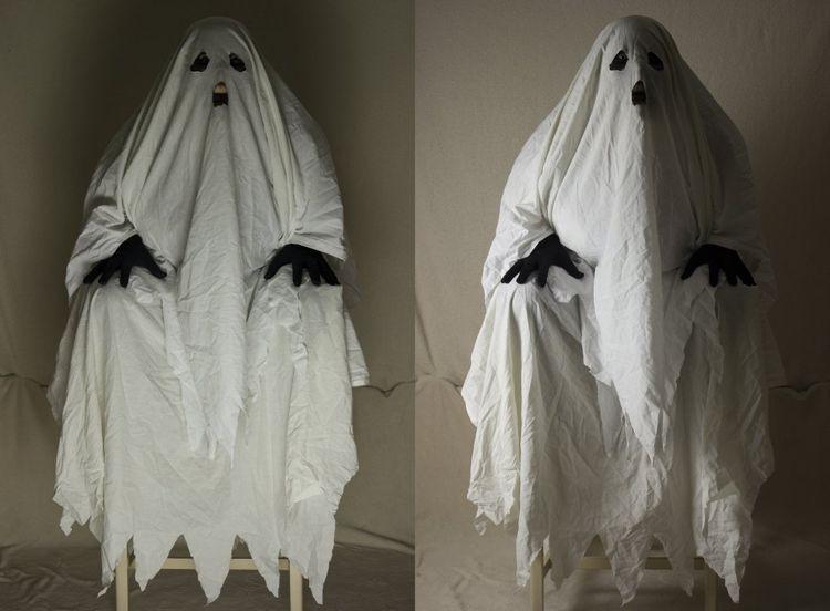 Halloween Kostüme Selber Machen Geist Gespenst Gruselig