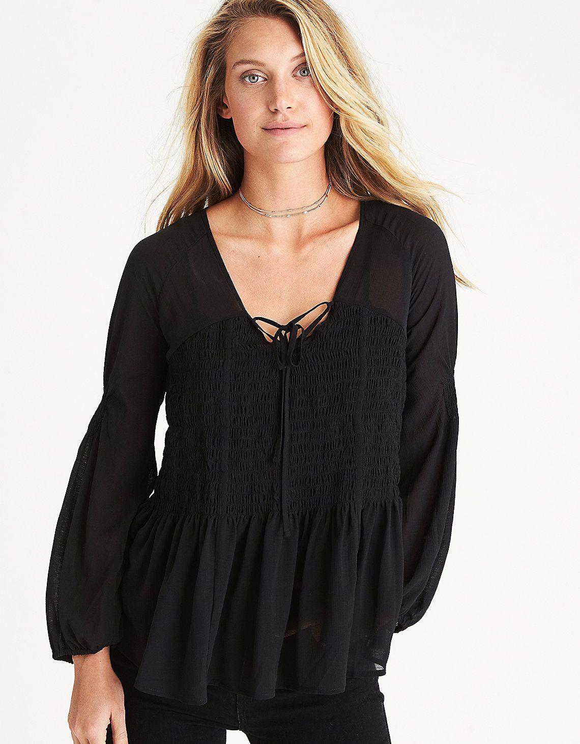 to wear - How to black a wear flowy top video