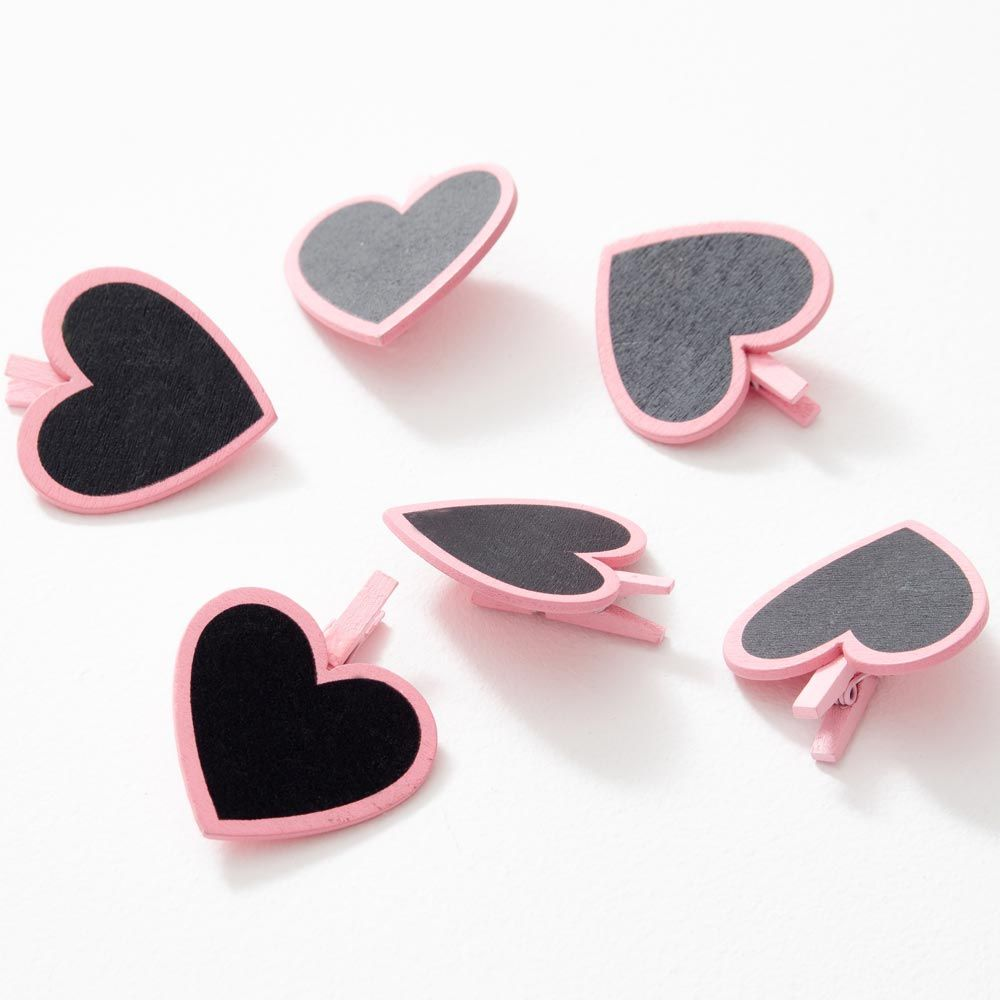 These Mini Heart Photo Pegs are the perfect addition to any Polaroid ...