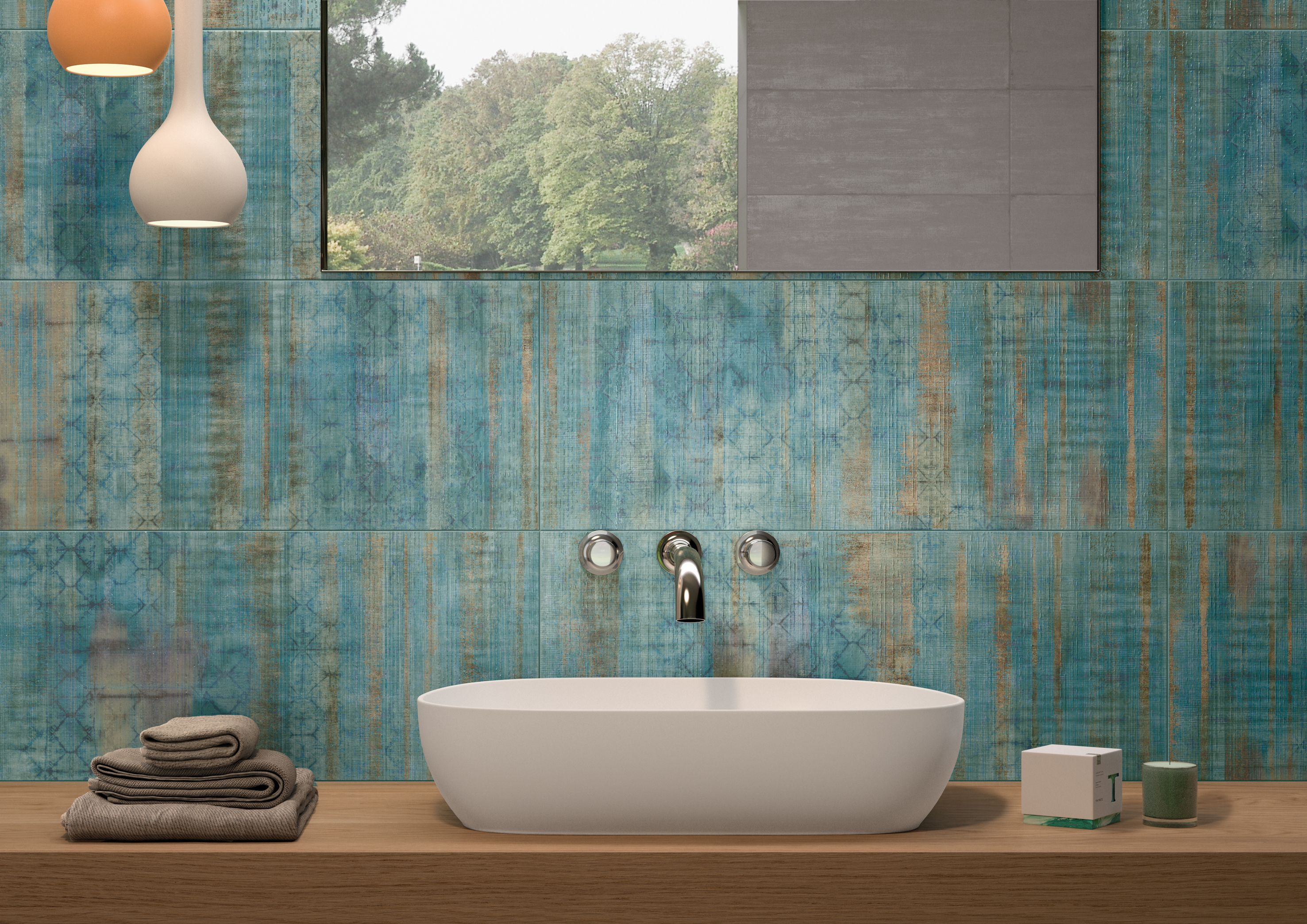 Naxos flair trend alert color crush nel bathroom