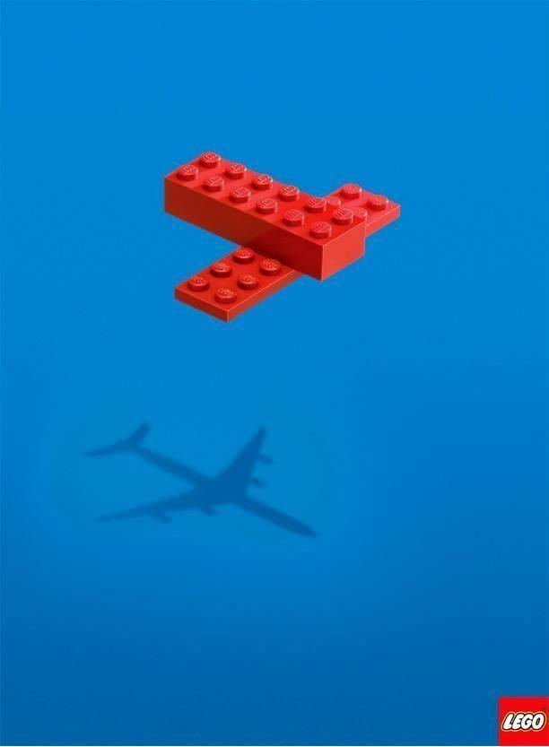 Lego Advertising Genius