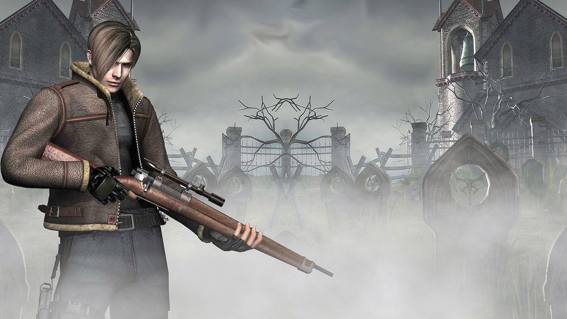 Resident Evil 4 Wallpaper In 1920x1080 Resident Evil Resident Evil Leon Evil