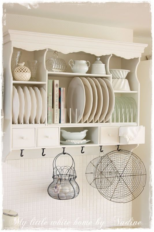 Oh I Want This Shelf Lots Of Possibility For Adding Color Charm And Character To My Kitchen
