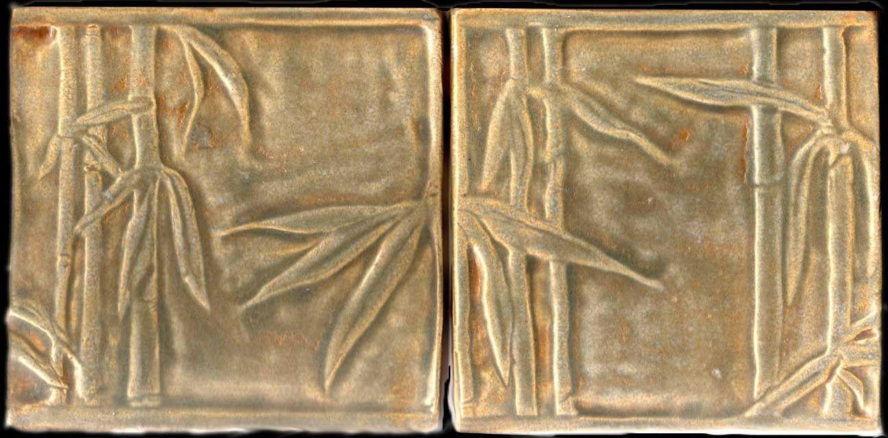 Handmade tile frieze or backsplash or border with japanese bamboo handmade tile frieze or backsplash or border with japanese bamboo forest motif dailygadgetfo Choice Image