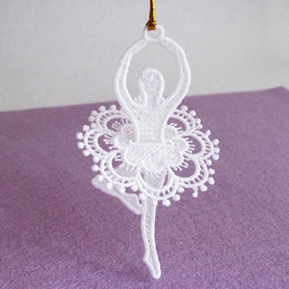 Fsl Ballerina Free Standing Lace Machine Embroidery Designs Instant