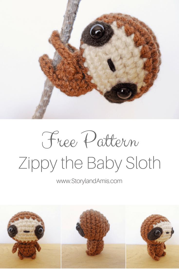 Pattern: Zippy the Baby Sloth