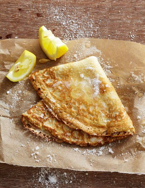 Basic Crepes Recipe Food Basic Crepe Recipe Recipes