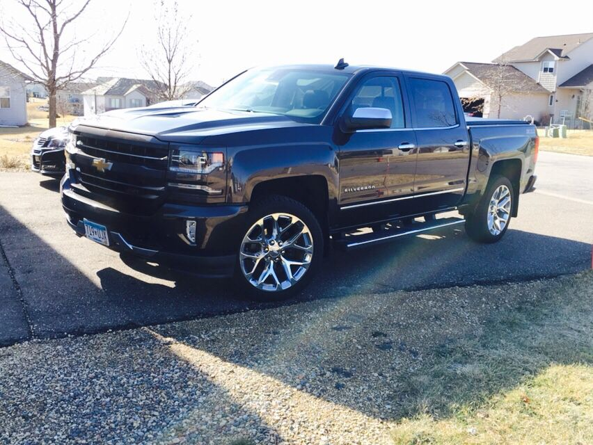 2016 Silverado Ltz Z71 On 22 Rims From My Old 2014 Chevy