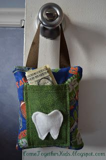 Come Together Kids: Two-Pocket Tooth Fairy Pillow
