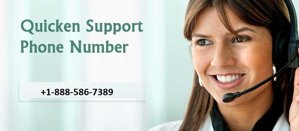 Quicken Support Phone Number 1-888-586-7389 and get immediate support on Quicken software and