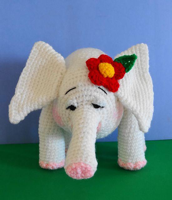 Amigurumi Baby Elephant - FREE Crochet Pattern and Tutorial by Sue ...