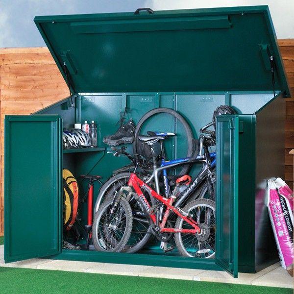 Asgard Metal Security Shed - Access Bike Store