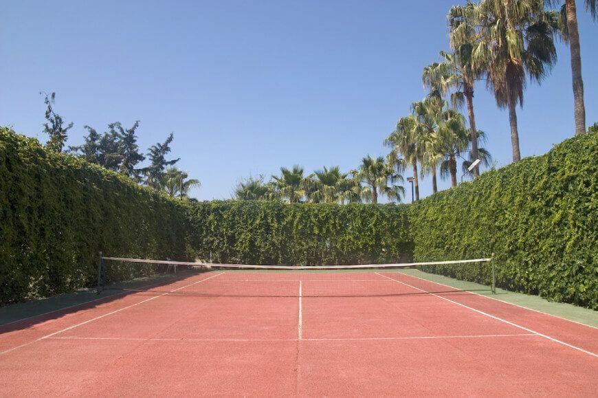 53 Luxurious Tennis Court Ideas | Tennis court backyard ...