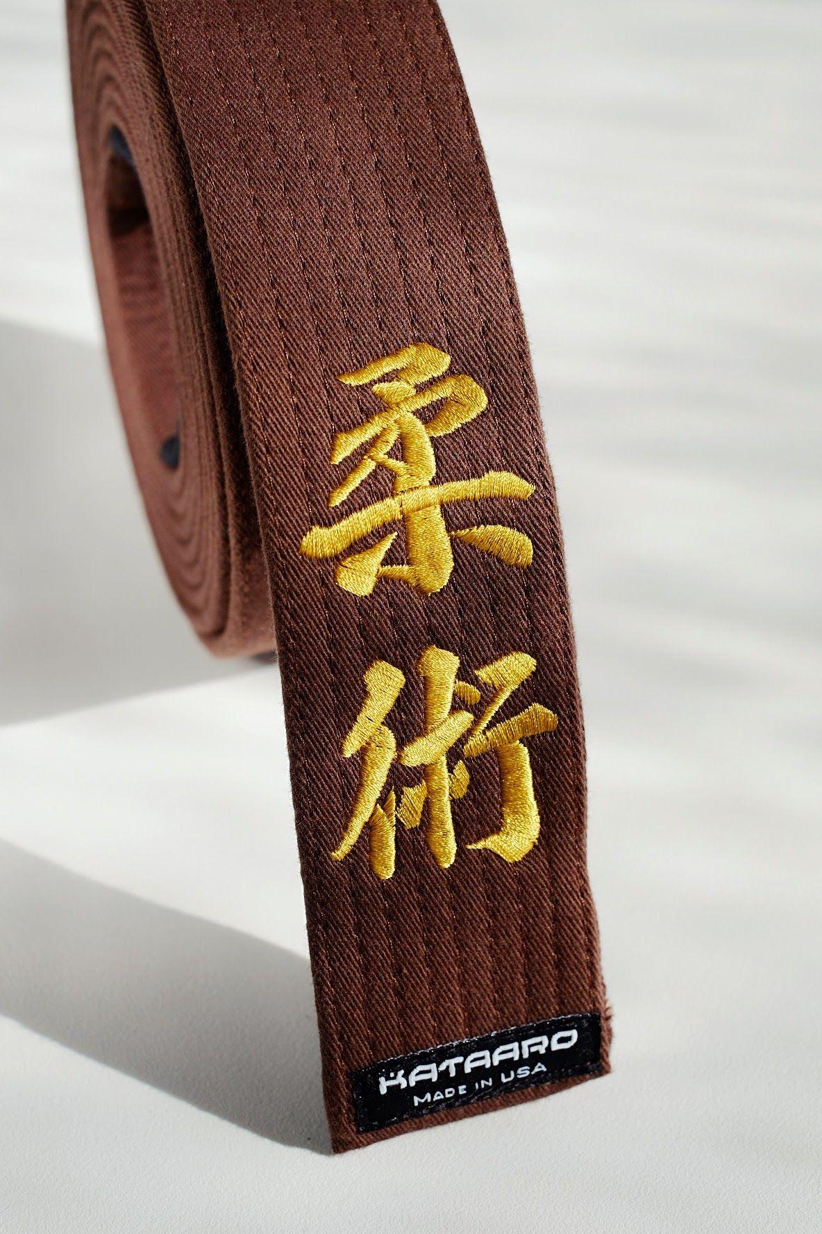 ... Customized black belt - Hirota - Karate belt ...