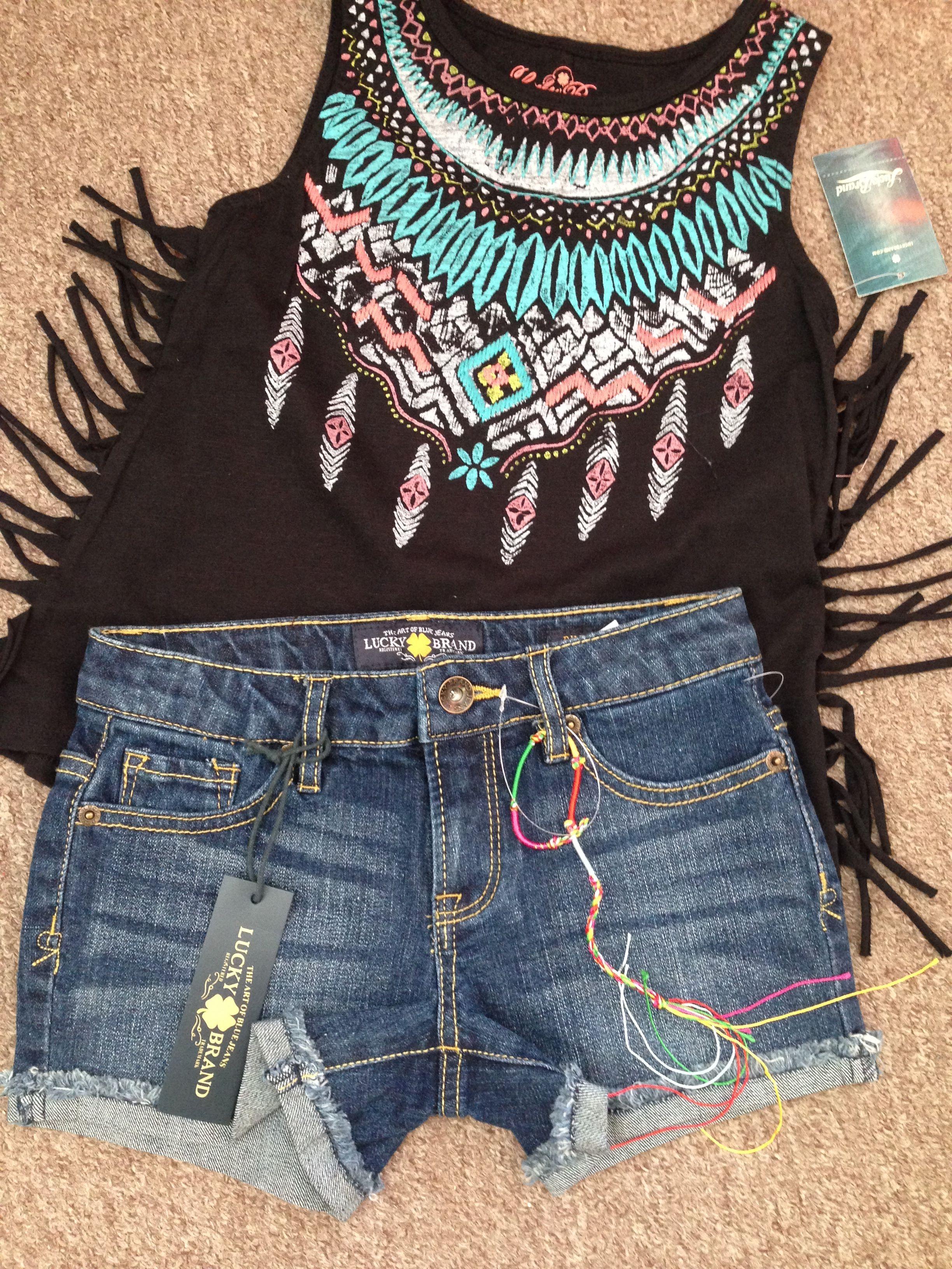 LUCKY BRAND SPRING/SUMMER 2015 Teenage Fashion • Teen