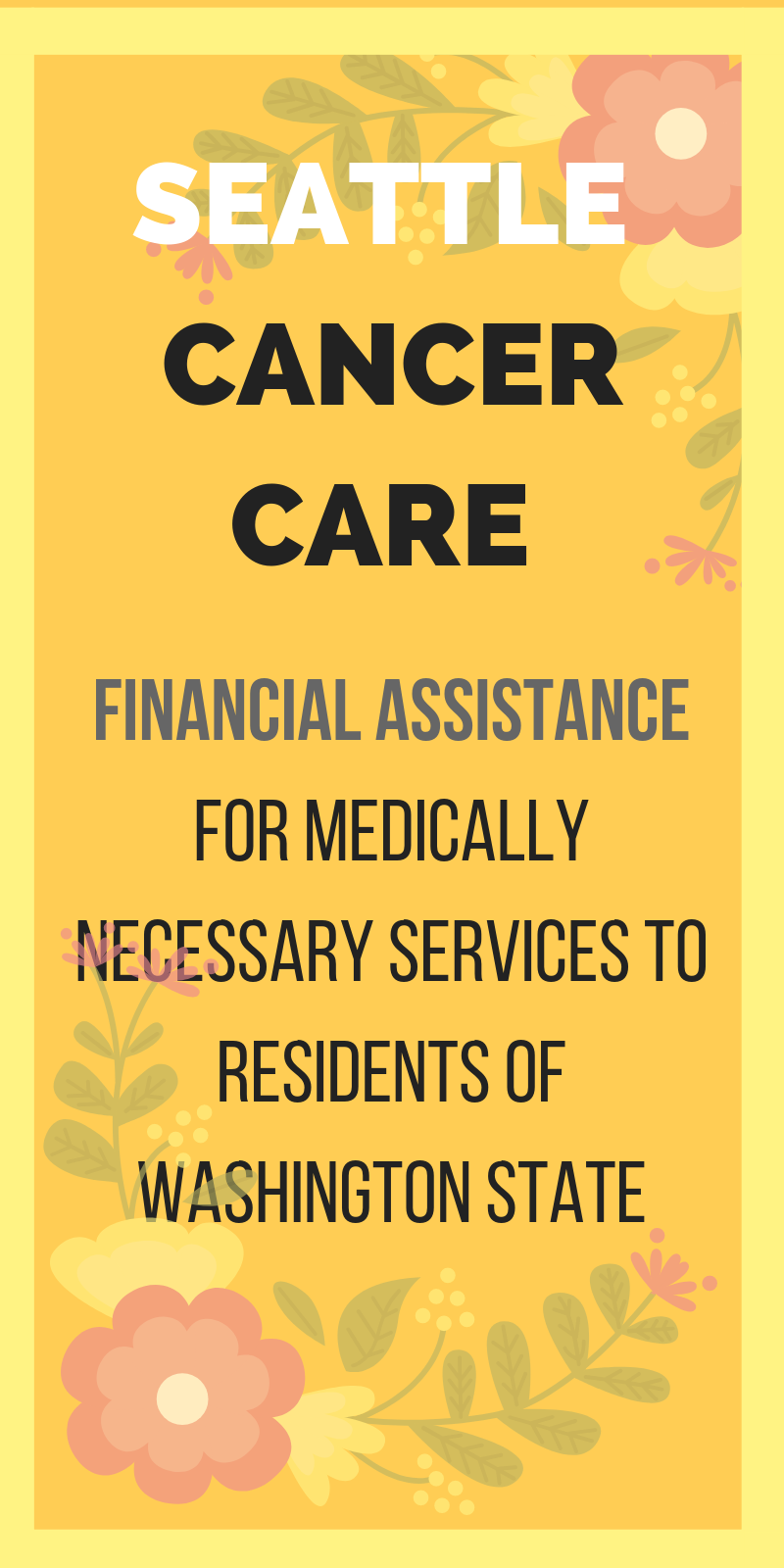 financial assistance for medically necessary services to