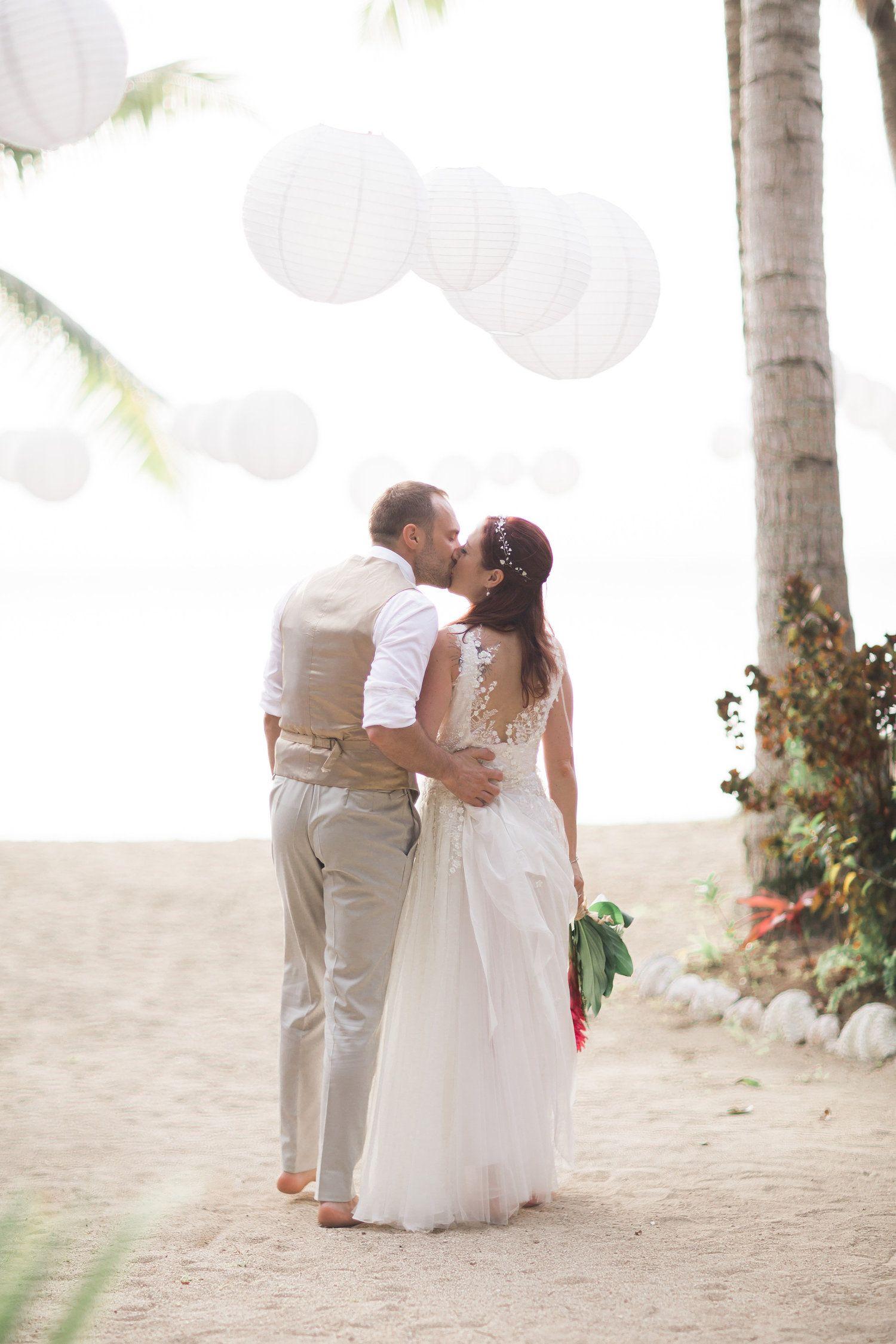 Lace back wedding dress photo by lia and stu wildenlondon