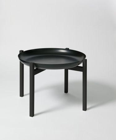 Design House Stockholm Tablo Table - Image Black Tray & 40cm
