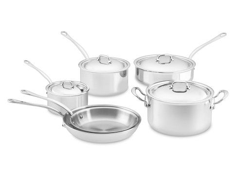 Mauviel MCook 10-Piece Cookware Set | Williams-Sonoma