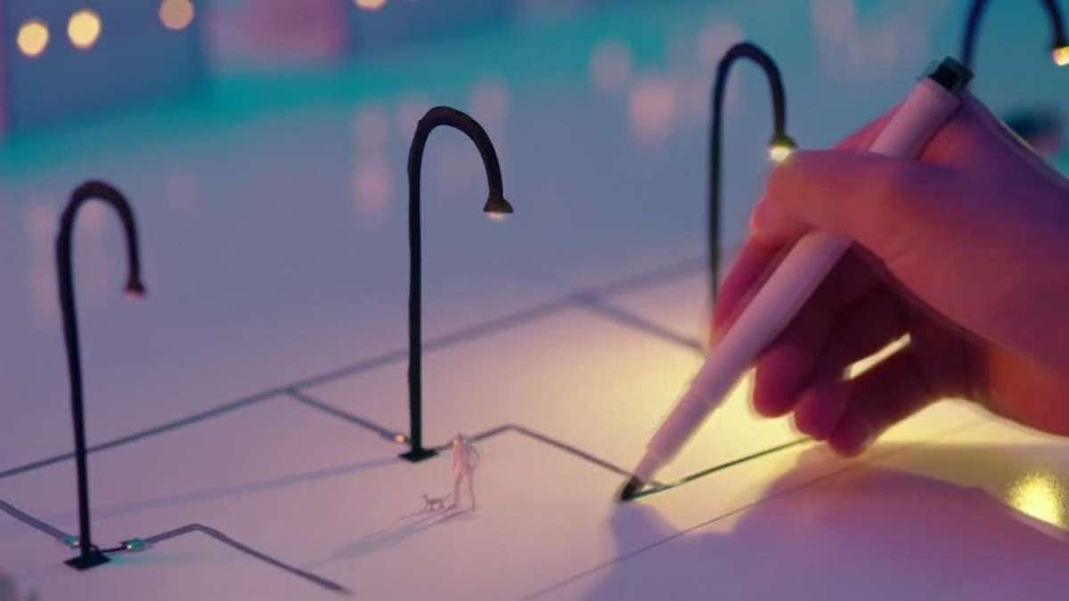Japanese Pen Draws Circuits With Conductive Ink Random Enjoyments