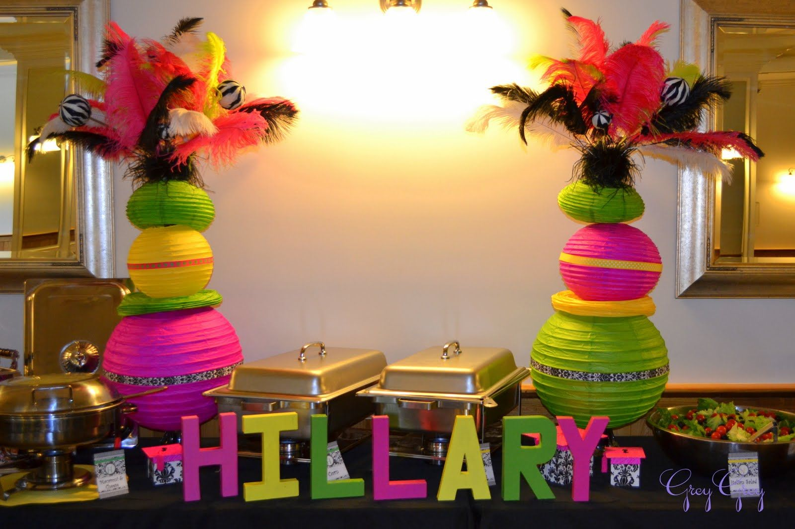 teen party centerpiece sweet 16 party ideas pinterest partyteen party centerpiece