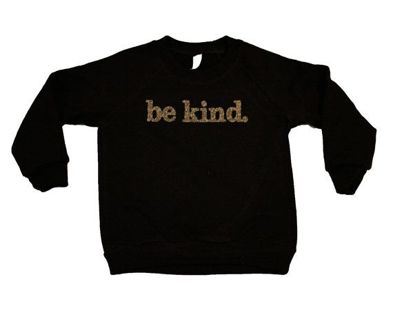 Be Kind Movement Kids Apparel Be Kind Gold by ...