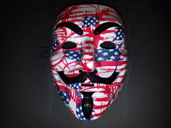 Guy Fawkes Mask Image By Kcrazycustoms On Anonymous Masks Cool