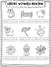 Short Vowels And A Freebie Short Vowel Worksheets Vowel Worksheets Short Vowels Free vowels worksheets for kindergarten