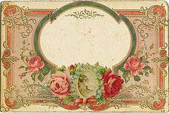 antique label
