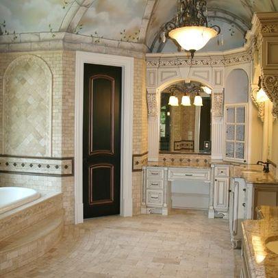 european style luxury bathrooms | Luxury Open Floor Plan ...