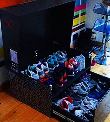 jordan box for shoes