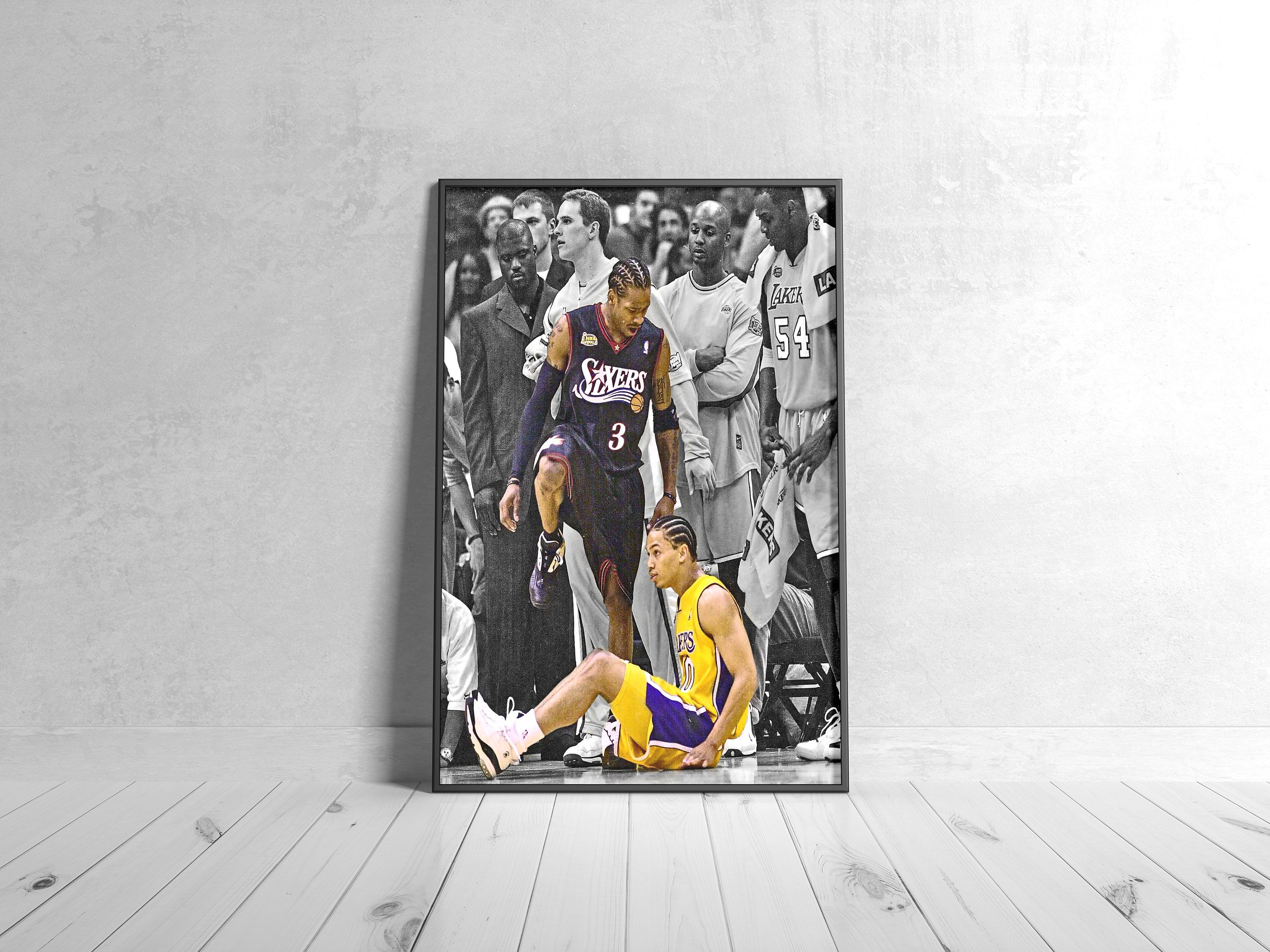 allen iverson step over ty lue nba
