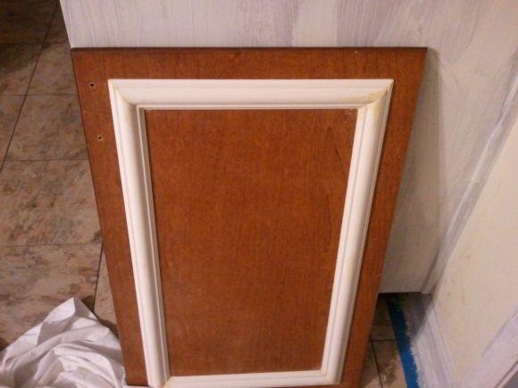 Add trim to update kitchen cabinets   Cabinet door ...