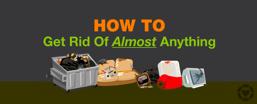 This Infographic Provides Several Solutions For Getting Rid Of Large Items Unwanted Furniture Household Waste Unwanted Furniture Household Waste Infographic