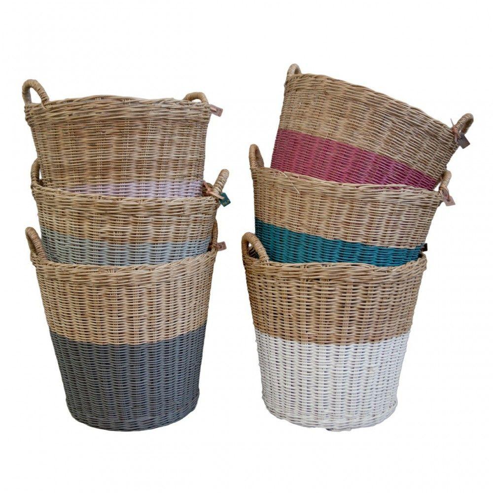 L Storage Basket Sweet Blue S046 Numero 74 Design Children