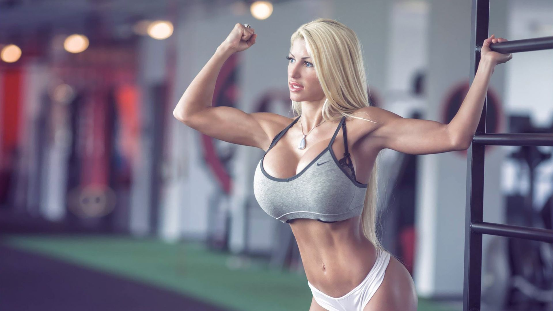 Sexy fit women