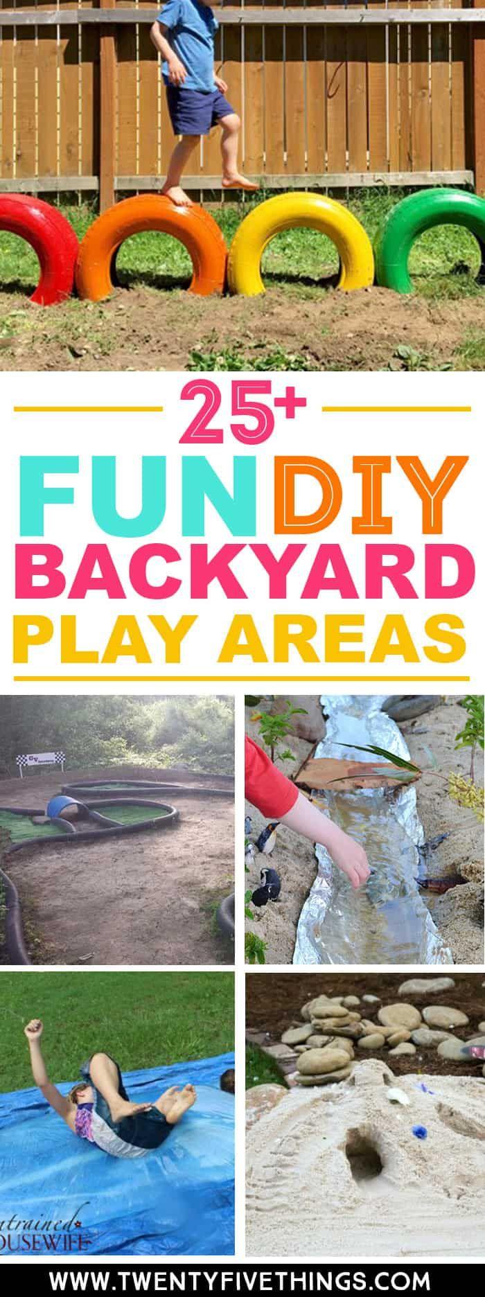 25+ Fun DIY Backyard Play Areas The Kids Will Love -   19 diy storage for kids ideas