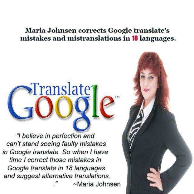 @mdjubairahmedhr : promoting888 : RT iseousa: Maria Johnsen corrects #GoogleTranslate issues in 18 #languages https://t.co/ngCfiIE9O8) https://t.co/LCx4N32UwN