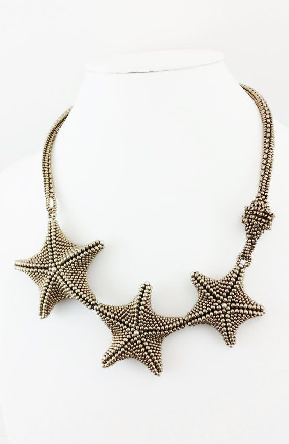 STARFISH NECKLACE STARFISH Beach Necklace by DiggityDogStudio.....SOLD! Custom Order available.
