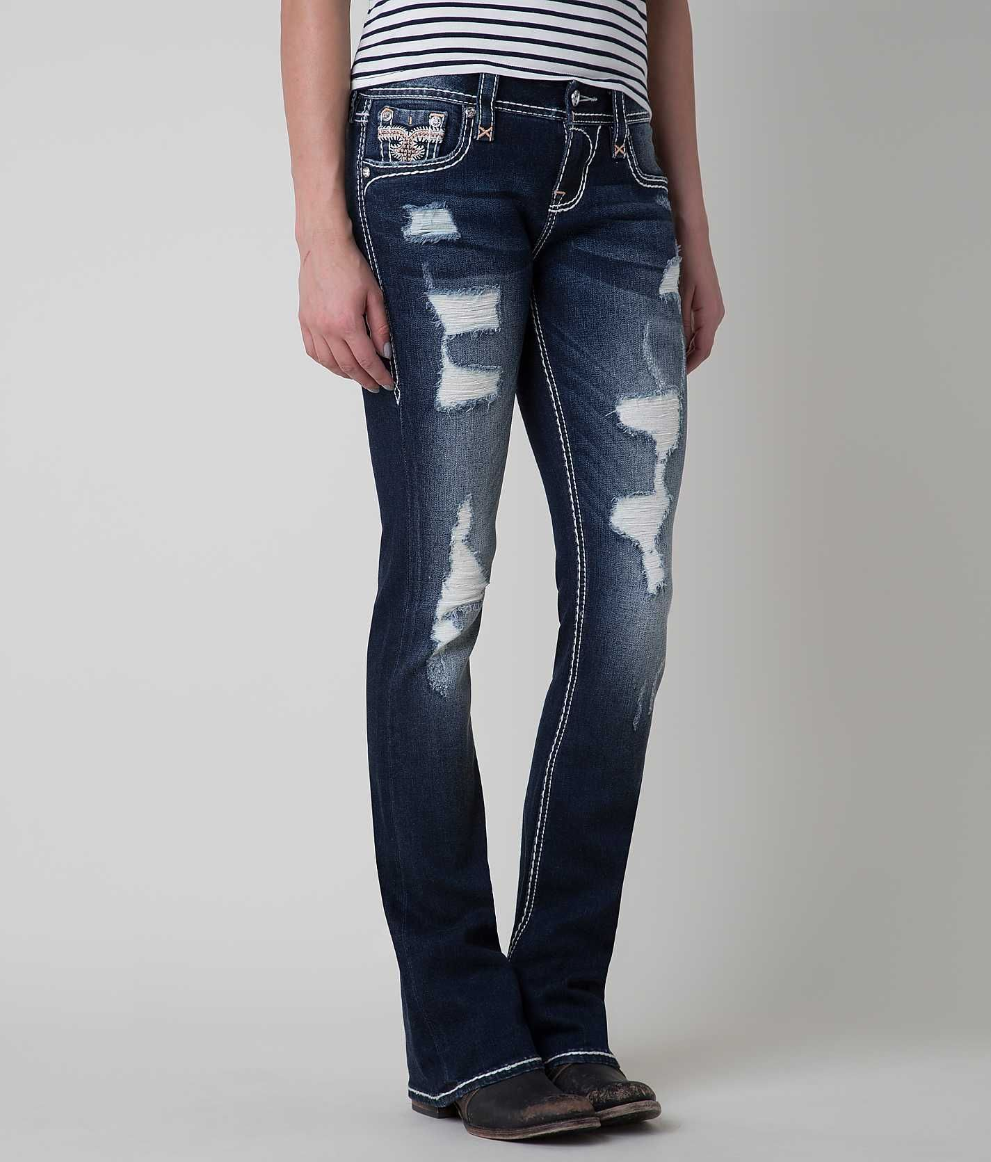 Rock Revival Betty Mid-Rise Boot Stretch Jean - Womenu0026#39;s ...
