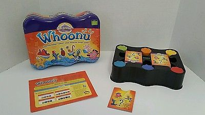 Whoonu Cranium Game in Tin Used