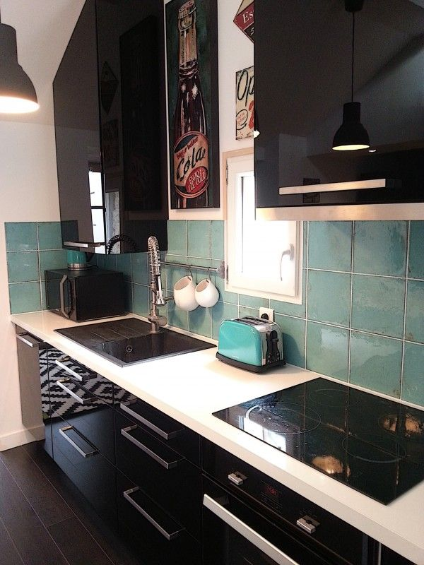 Avant/après  rénovation d\u0027une cuisine ouverte sur le salon Spaces
