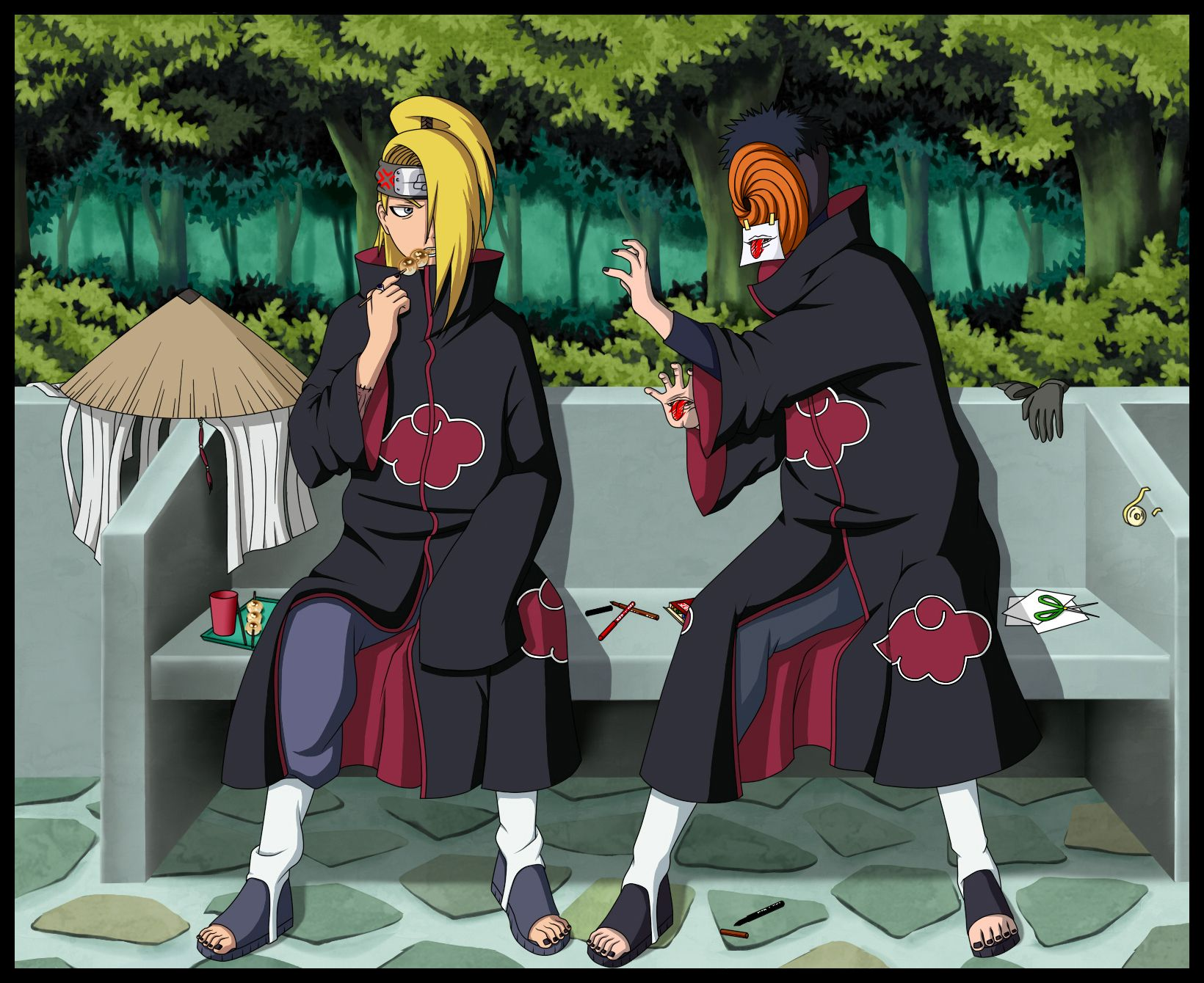 Tobi And Deidara Those Who Abandon Their Friends Are Worse Than Scum Shirt