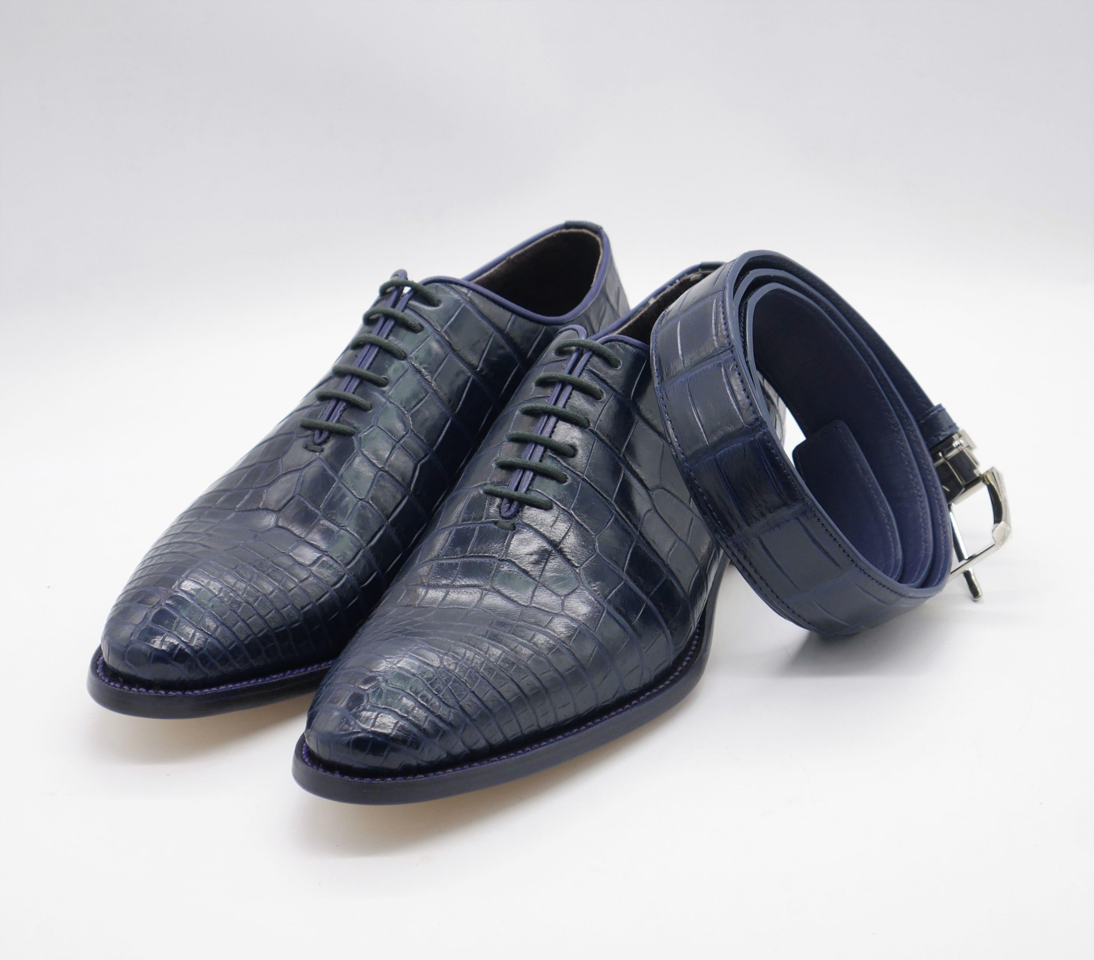 pas mal b8525 1b428 Chaussures de crocodile de haute qualité choisies et ...